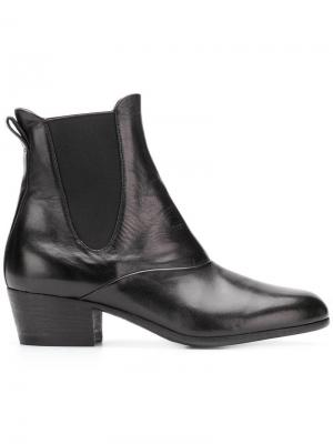 Ботинки челси на каблуке Pantanetti. Цвет: черный