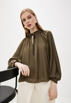 Блуза Zadig & Voltaire. Цвет: хаки