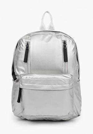 Рюкзак Keddo. Цвет: серебряный