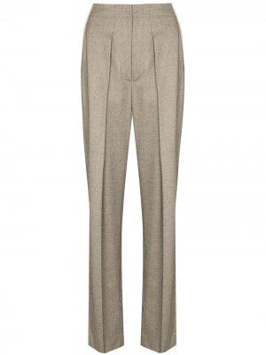 Зауженные брюки Ava строгого кроя Stella McCartney. Цвет: серый