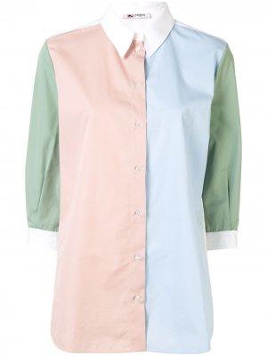 Рубашка в стиле колор-блок Ports 1961. Цвет: разноцветный