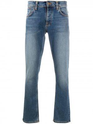 Джинсы Grim Tim Nudie Jeans. Цвет: синий
