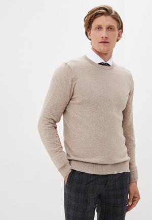 Джемпер Burton Menswear London. Цвет: бежевый