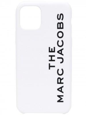 Чехол для iPhone 11 с логотипом Marc Jacobs. Цвет: белый