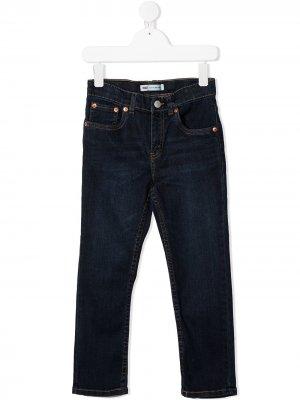 Levis Kids джинсы стандартного кроя Levi's. Цвет: синий
