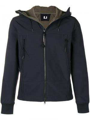 Zipped windbreaker CP Company. Цвет: черный