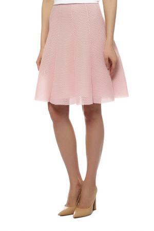 Юбка MONCLER. Цвет: розовый