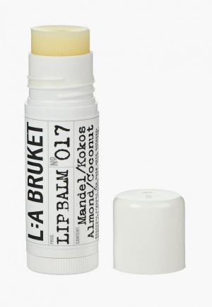 Бальзам для губ La Bruket. Цвет: прозрачный