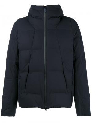 Утепленная куртка Mizusawa Shuttle с капюшоном Descente Allterrain. Цвет: синий