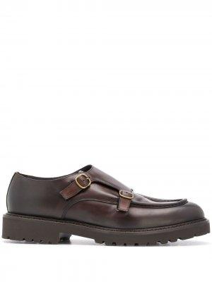 Doucals туфли монки Doucal's. Цвет: коричневый