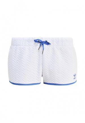 Шорты спортивные adidas Originals. Цвет: белый