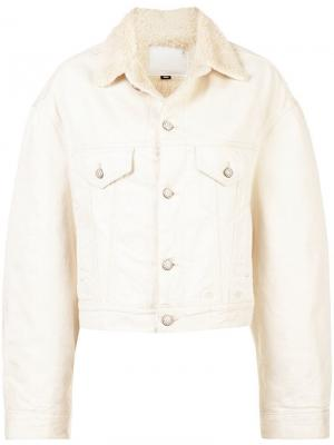 Куртка R13. Цвет: белый