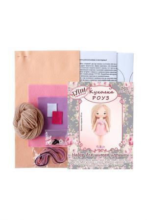 Набор для шитья Куколка Роуз СТУДИЯ ДЕКОРА ТУТТИ. Цвет: персиковый