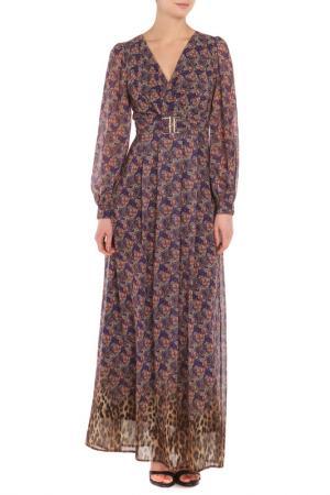 Платье BODYFORM. Цвет: фиолетовый