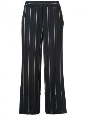 Широкие брюки Yigal Azrouel. Цвет: черный