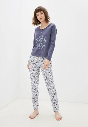 Пижама NYMOS. Цвет: разноцветный
