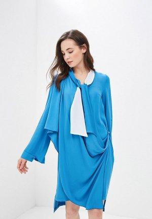 Платье Adzhedo. Цвет: голубой