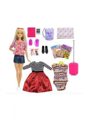 Набор Путешествие Barbie. Цвет: бордовый