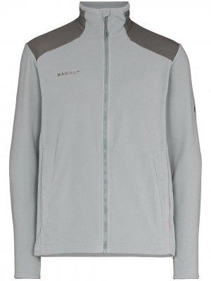 Легкая флисовая куртка Innominata Mammut. Цвет: серый
