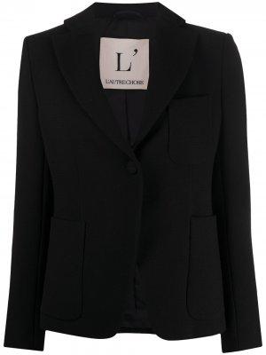 LAutre Chose пиджак на пуговице L'Autre. Цвет: черный
