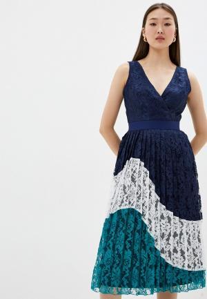 Платье Little Mistress. Цвет: синий
