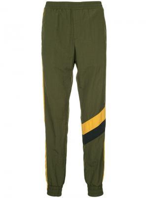 Performance sports trousers Wooyoungmi. Цвет: зеленый