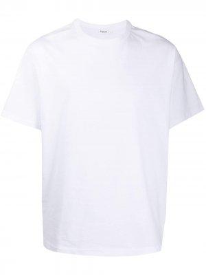 Однотонная футболка с круглым вырезом Filippa K. Цвет: белый