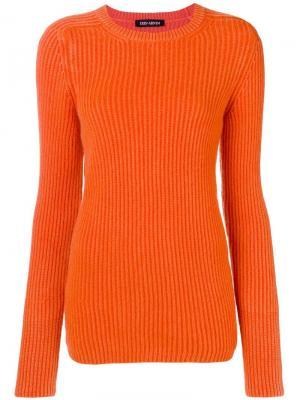 Ribbed sweater Iris Von Arnim. Цвет: оранжевый