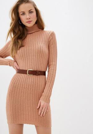 Платье Brave Soul. Цвет: розовый