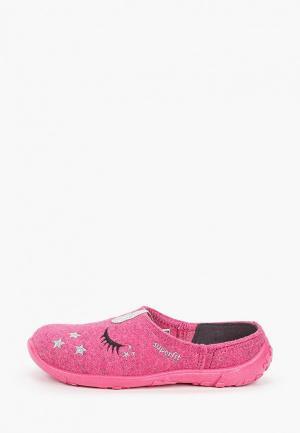 Тапочки Superfit. Цвет: розовый