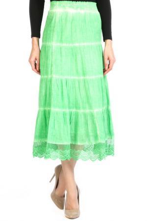 Юбка Apanage. Цвет: зеленый