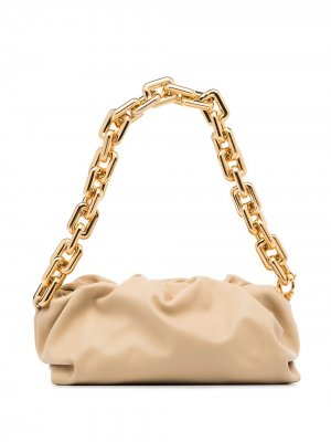 Клатч  Chain Pouch Bottega Veneta. Цвет: нейтральные цвета