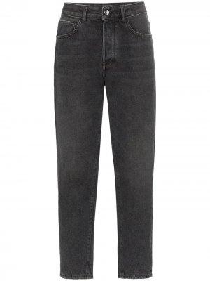 Зауженные джинсы Marcelo Burlon County of Milan. Цвет: черный