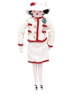Коллекционная кукла Petite Coco 2010-го года Chanel Pre-Owned. Цвет: белый