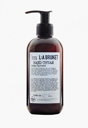 Крем для рук La Bruket. Цвет: прозрачный
