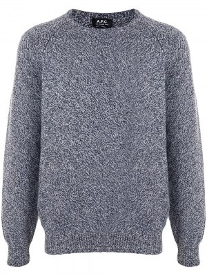 Пуловер Pablo с длинными рукавами A.P.C.. Цвет: синий