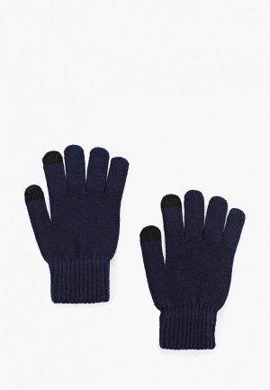 Перчатки Sela. Цвет: синий