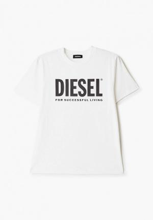 Футболка Diesel. Цвет: белый