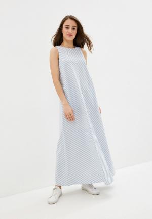 Платье Baon. Цвет: голубой