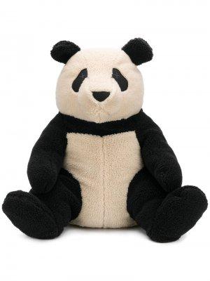 Мягкая игрушка в виде панды Raeburn. Цвет: белый