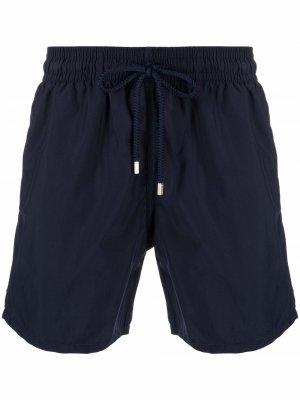 Плавки-шорты с кулиской Vilebrequin. Цвет: синий
