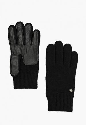 Перчатки Roeckl. Цвет: черный