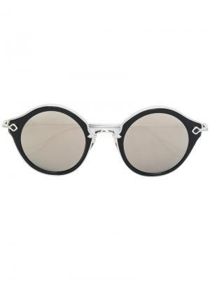 Солнцезащитные очки Bella Chrome Hearts. Цвет: серый