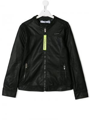 TEEN racer jacket Vingino. Цвет: черный