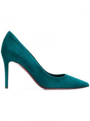 Туфли-лодочки на высоком каблуке Deimille. Цвет: зеленый