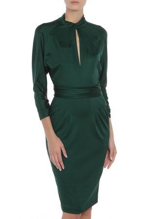 Платье Valentino. Цвет: зеленый