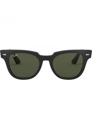 Солнцезащитные очки Meteor Ray-Ban. Цвет: черный