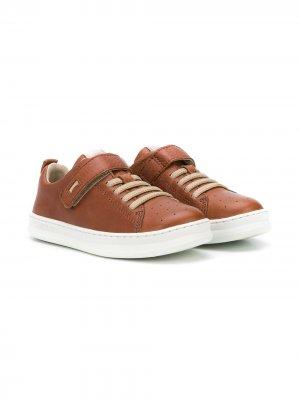 Кроссовки на шнуровке Camper Kids. Цвет: коричневый