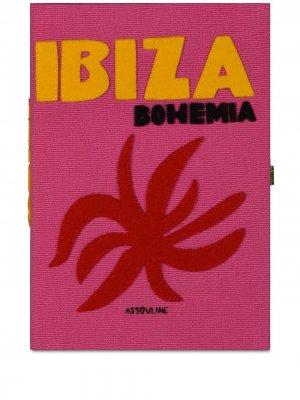 Клатч Ibiza из коллаборации с Olympia Le-Tan Assouline. Цвет: розовый