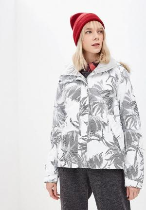 Куртка горнолыжная Roxy. Цвет: белый